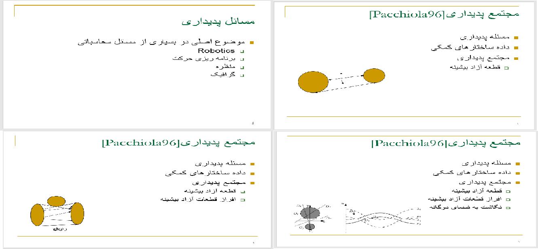 دانلود فایل پاورپوینت محاسبه کارای پدیداری در فضای سه بعدی